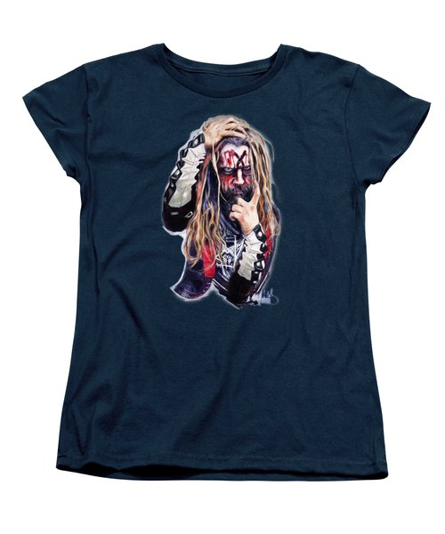 Rob Zombie Women's T-Shirt (Standard Cut) by Melanie D