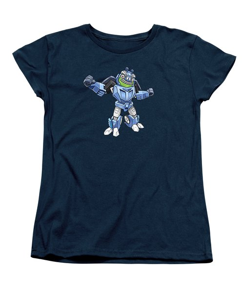 I Robot T-shirt Women's T-Shirt (Standard Cut) by Herb Strobino