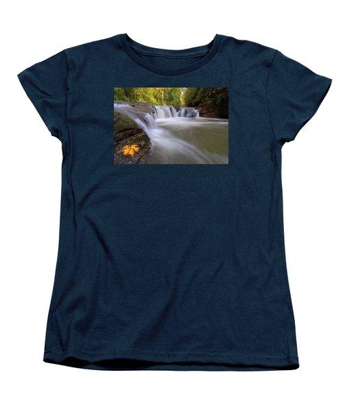 Rock Creek In Happy Valley Oregon Women's T-Shirt (Standard Fit)
