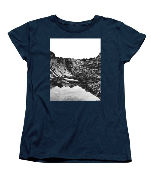 Rock - Detail Women's T-Shirt (Standard Cut) by Rebecca Harman