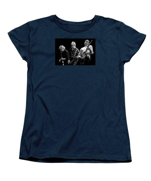 Rockin' All Over The World Women's T-Shirt (Standard Cut) by Brian Tarr