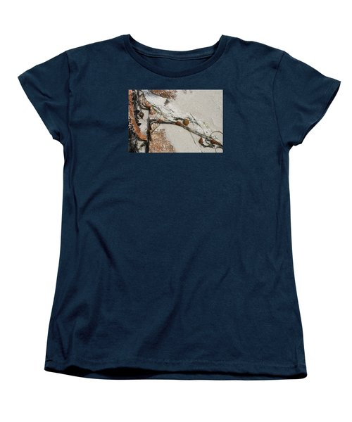 Rocks Longside Women's T-Shirt (Standard Cut) by Kathleen Grace