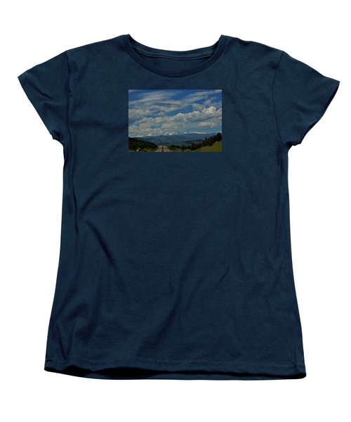 Colorado Rocky Mountain High Women's T-Shirt (Standard Cut)