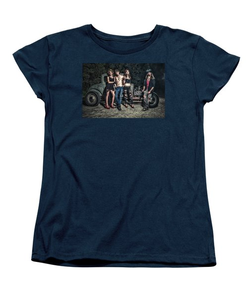 Rodders #6 Women's T-Shirt (Standard Cut) by Jerry Golab