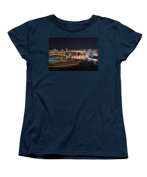Rogers Arena Vancouver Women's T-Shirt (Standard Cut) by Sabine Edrissi