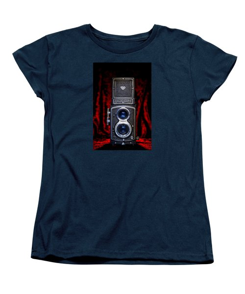 Women's T-Shirt (Standard Cut) featuring the photograph Rollei by Keith Hawley