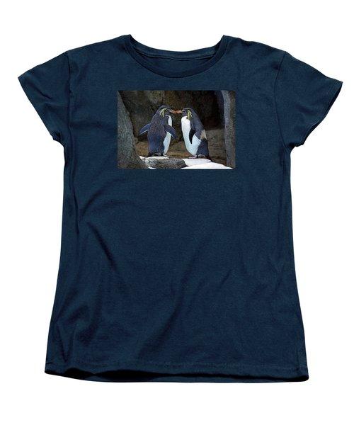 Romantic Rockhoppers Women's T-Shirt (Standard Cut)