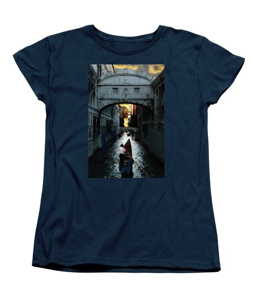 Romantic Venice Women's T-Shirt (Standard Cut) by Harry Spitz