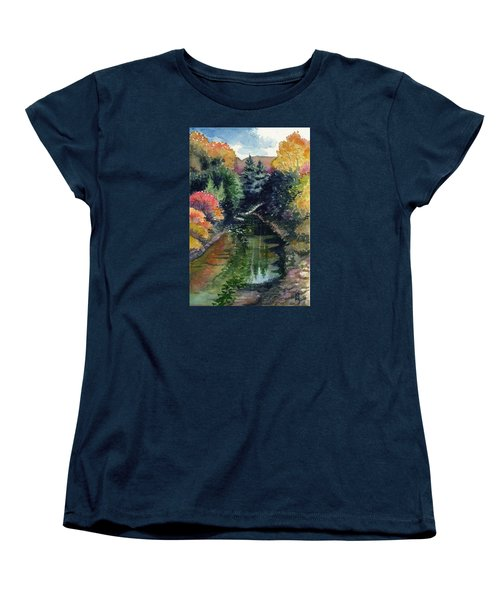 Ronceverte, Wv Women's T-Shirt (Standard Cut) by Katherine Miller