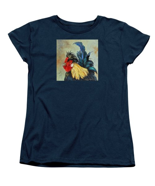 Women's T-Shirt (Standard Cut) featuring the painting Roo by Cheri Wollenberg