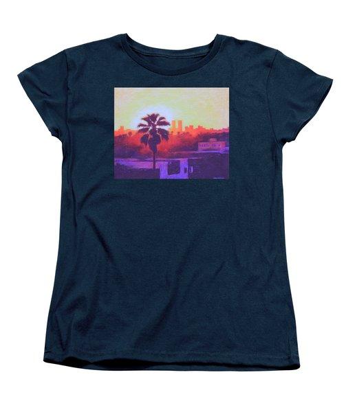 Rooftop Glow Women's T-Shirt (Standard Cut) by Andrew Danielsen