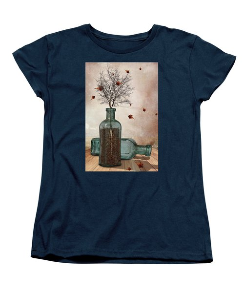 Rooted Women's T-Shirt (Standard Cut) by Mihaela Pater