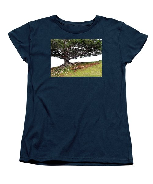 Roots Of Honolulu Women's T-Shirt (Standard Cut) by Gina Savage