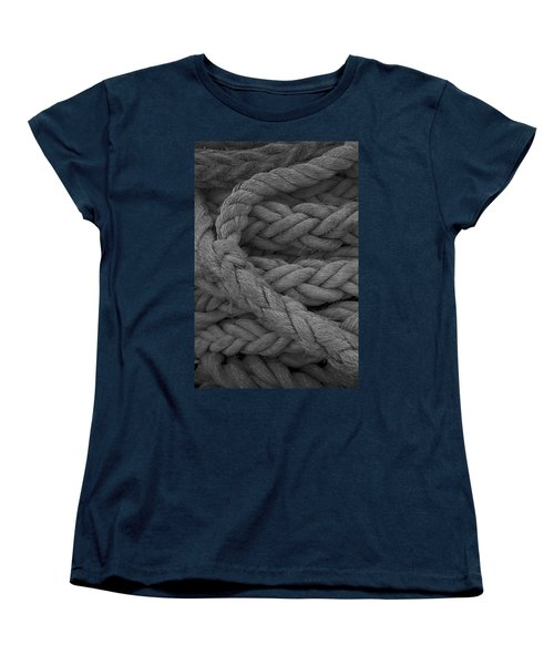 Rope I Women's T-Shirt (Standard Cut) by Henri Irizarri