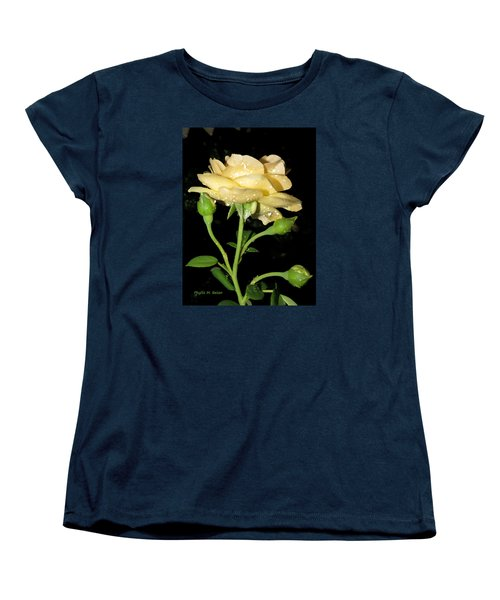 Women's T-Shirt (Standard Cut) featuring the photograph Rose 2 by Phyllis Beiser