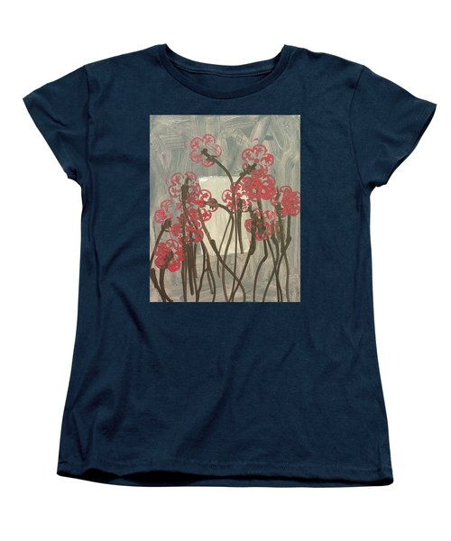 Rose Field Women's T-Shirt (Standard Cut) by Artists With Autism Inc