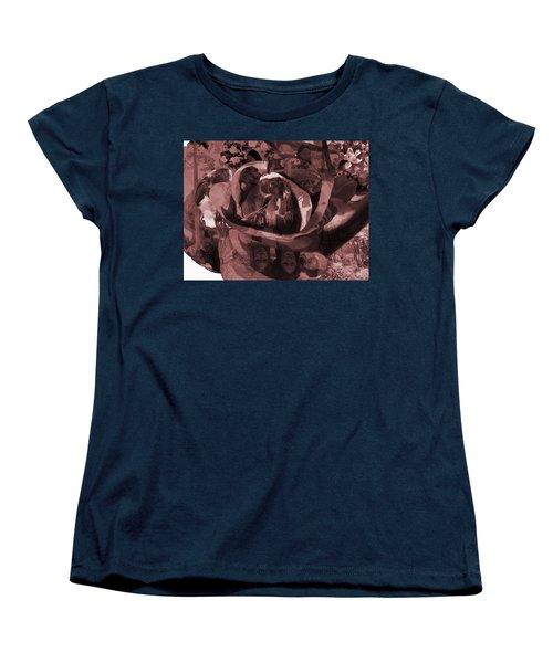 Rose No 2 Women's T-Shirt (Standard Cut) by David Bridburg