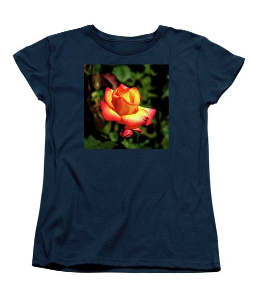 Women's T-Shirt (Standard Cut) featuring the photograph Rose To Remember by Dale Stillman