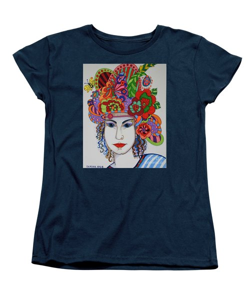 Women's T-Shirt (Standard Cut) featuring the painting Rosemary by Alison Caltrider