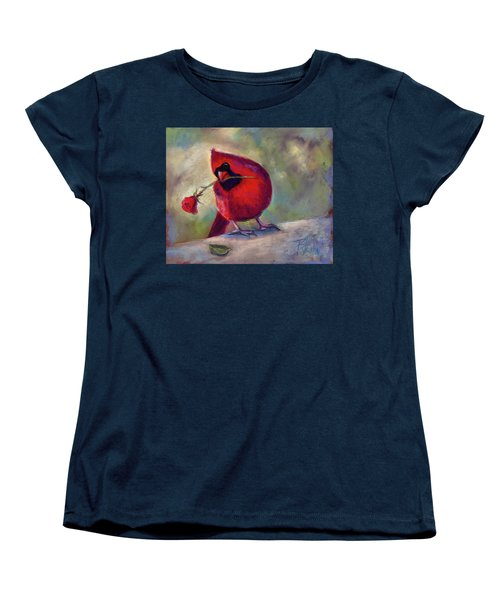 Roses Are Red And So Am I  Women's T-Shirt (Standard Cut) by Billie Colson