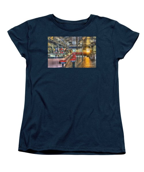 Rosies Diner Women's T-Shirt (Standard Cut) by Robert Pearson