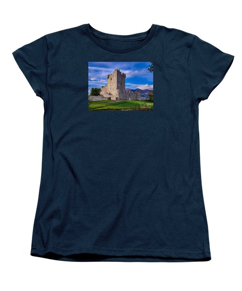 Ross Castle Women's T-Shirt (Standard Cut) by Juergen Klust