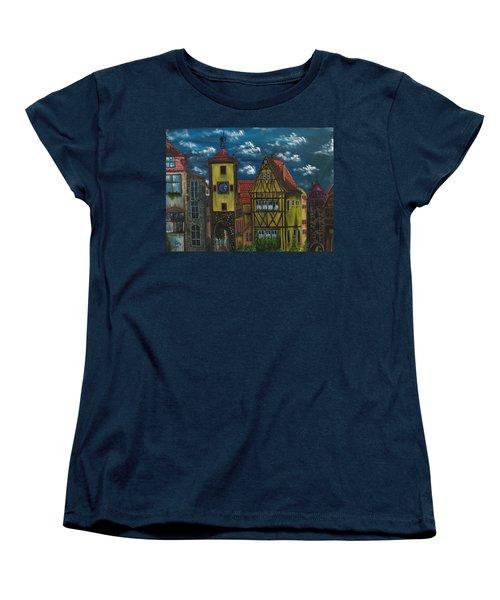 Rothenburg Ob Der Tauber Women's T-Shirt (Standard Cut)