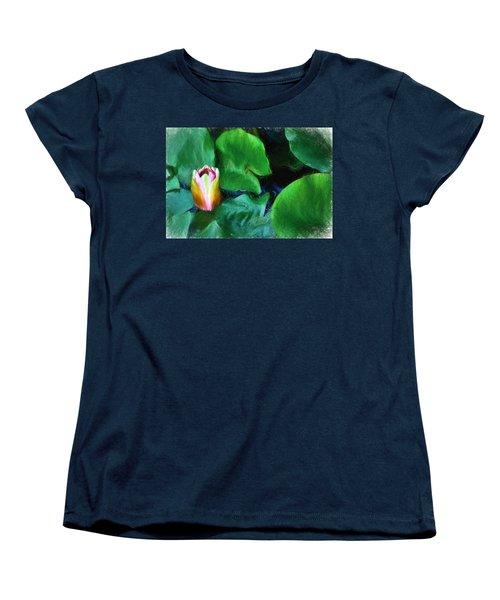 Rough Water Women's T-Shirt (Standard Cut) by Terry Cork
