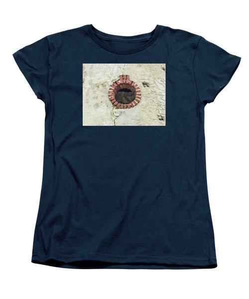 Round Window Women's T-Shirt (Standard Cut) by Helen Northcott