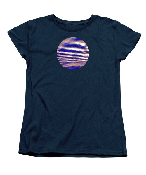 Rows Of Clouds Women's T-Shirt (Standard Cut) by Phil Perkins