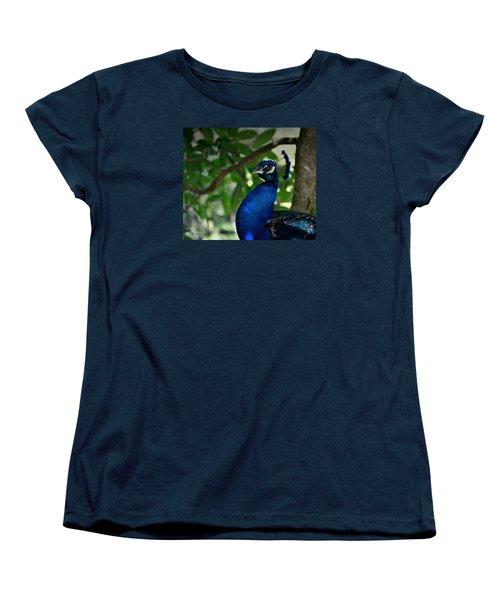 Royal Blue Women's T-Shirt (Standard Cut) by Edgar Torres