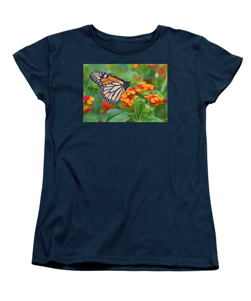 Royal Butterfly Women's T-Shirt (Standard Cut) by Shelley Neff