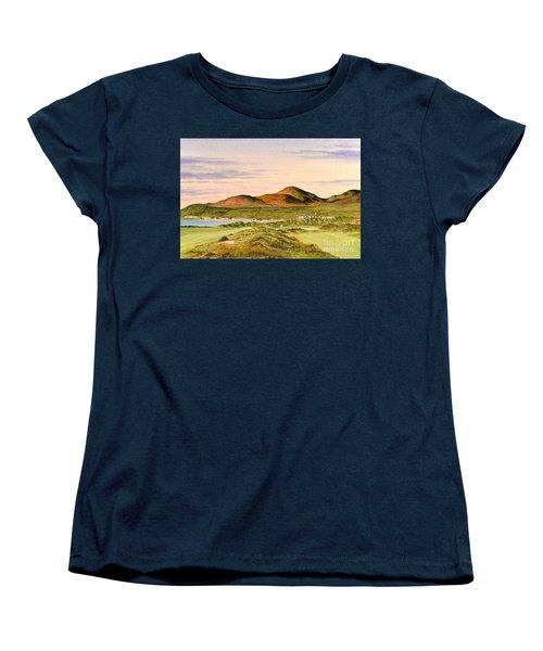 Royal County Down Golf Course Women's T-Shirt (Standard Cut) by Bill Holkham