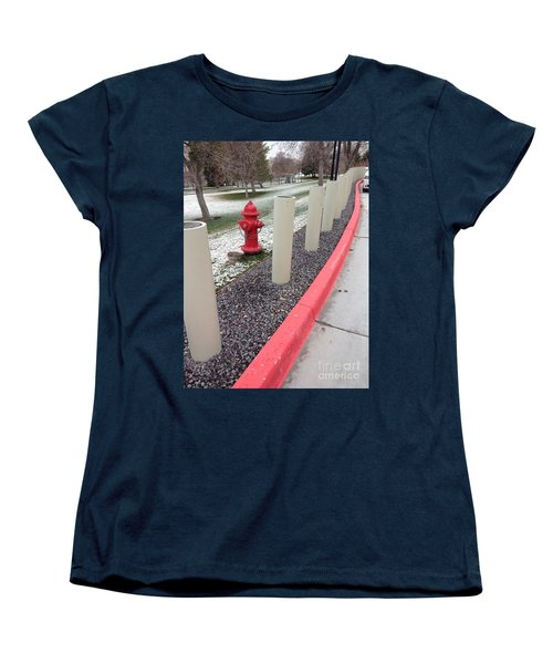 Running The Gauntlet Women's T-Shirt (Standard Cut) by Richard W Linford