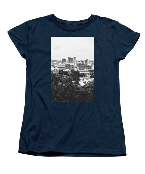 Women's T-Shirt (Standard Cut) featuring the photograph Rural Scenes In The Magic City by Shelby Young