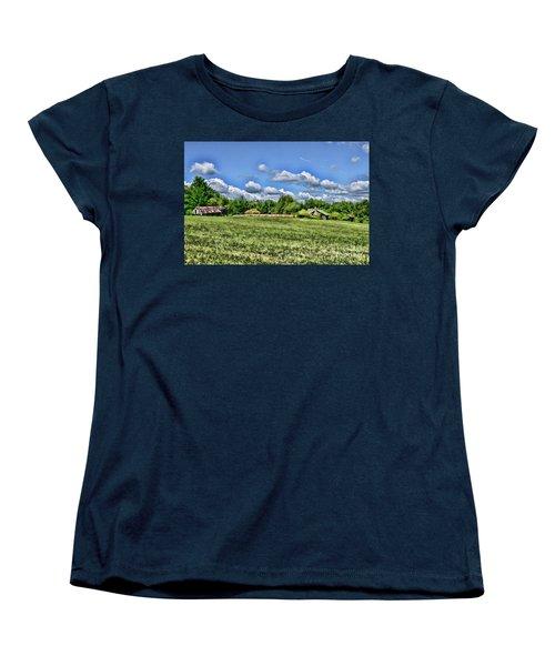 Women's T-Shirt (Standard Cut) featuring the photograph Rural Virginia by Paul Ward