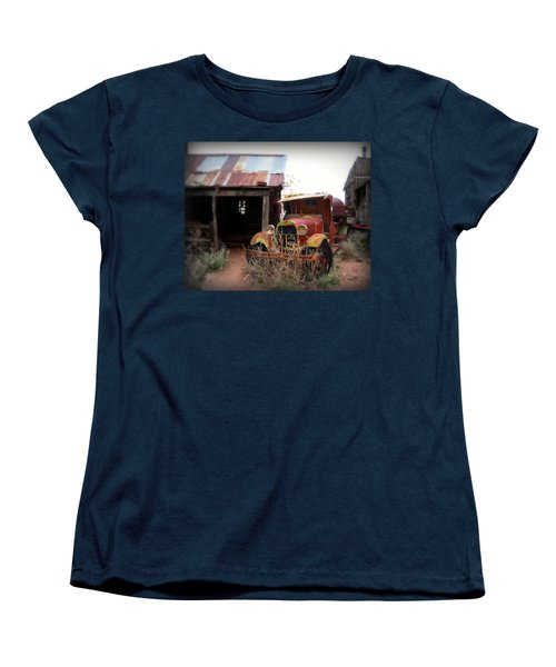 Rusted Classic Women's T-Shirt (Standard Cut) by Perry Webster
