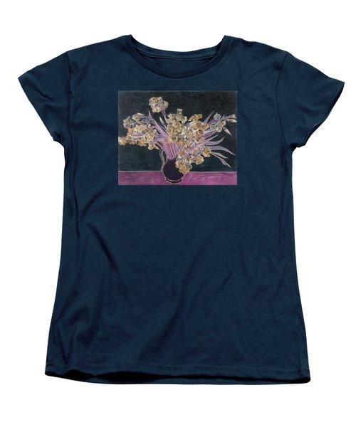 Rustic II Van Gogh Women's T-Shirt (Standard Cut) by David Bridburg