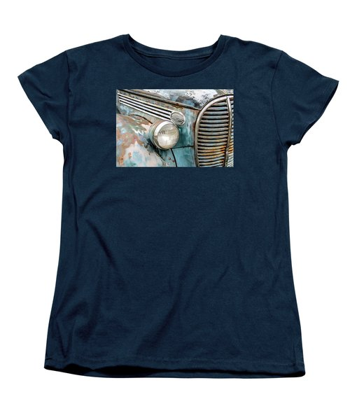 Rusty Ford 85 Truck Women's T-Shirt (Standard Cut) by David Lawson