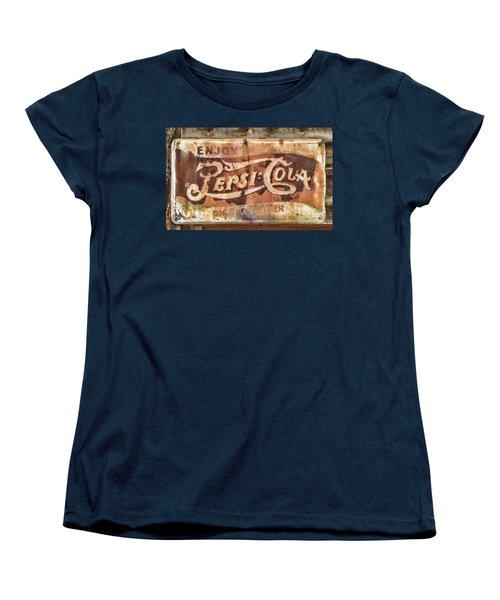Rusty Pepsi Cola Women's T-Shirt (Standard Cut) by Steven Parker