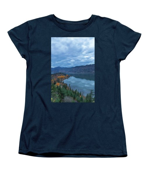 Ruthton Point During Evening Blue Hour Women's T-Shirt (Standard Fit)