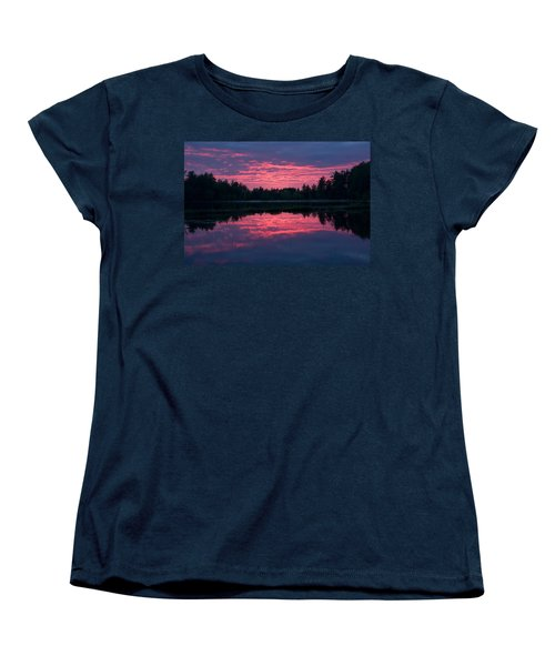Sabao Sunset 01 Women's T-Shirt (Standard Cut) by Brent L Ander