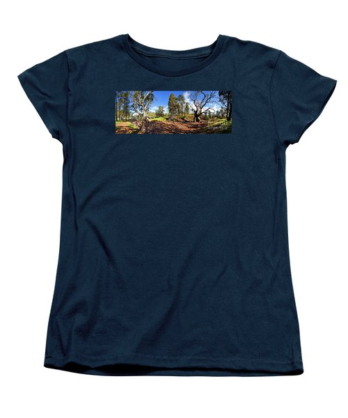 Sacred Canyon, Flinders Ranges Women's T-Shirt (Standard Cut) by Bill Robinson