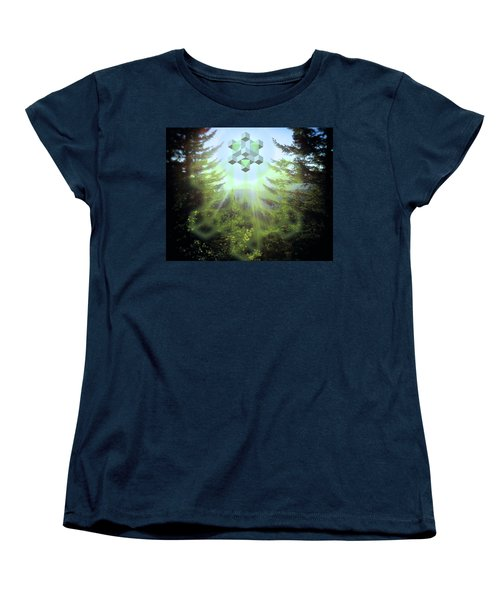Sacred Forest Event Women's T-Shirt (Standard Cut) by Milton Thompson
