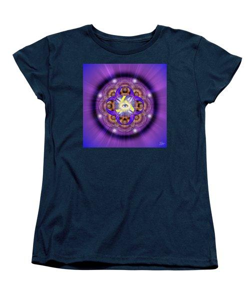 Sacred Geometry 639 Women's T-Shirt (Standard Cut) by Endre Balogh