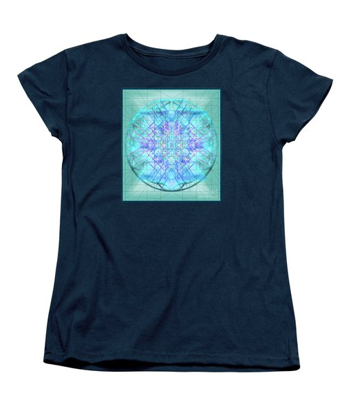 Women's T-Shirt (Standard Cut) featuring the digital art Sacred Symbols Out Of The Void 3b1 by Christopher Pringer
