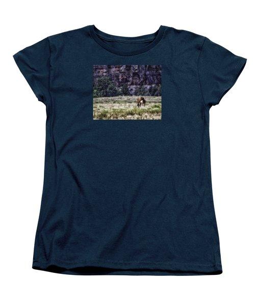 Safe In The Valley Women's T-Shirt (Standard Cut) by Elizabeth Eldridge