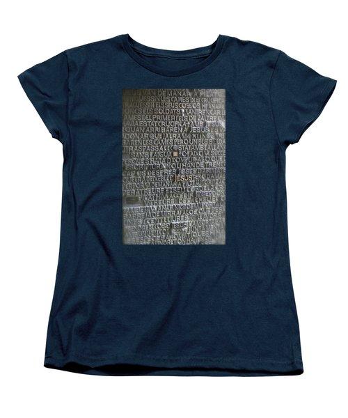 Sagrada Familia Doors Women's T-Shirt (Standard Cut) by Henri Irizarri