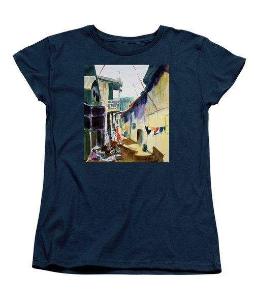 Saigon Alley Women's T-Shirt (Standard Cut) by Tom Simmons