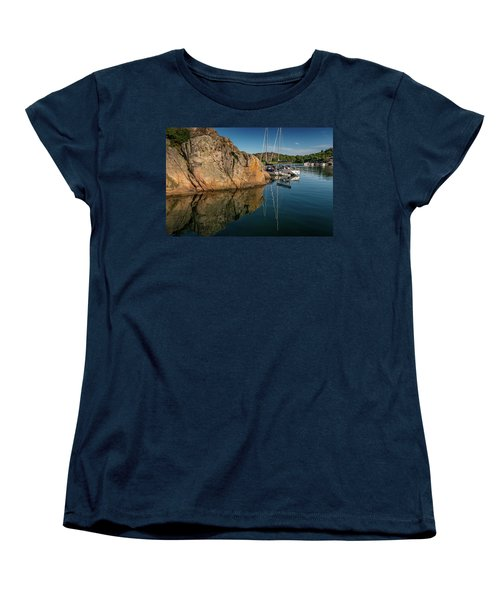 Sailing In Sweden Women's T-Shirt (Standard Cut) by Martina Thompson